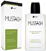 Gel para massagem corporal com aroma de menta mustash hot mint